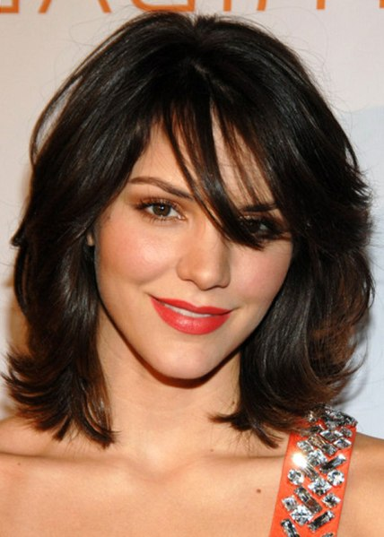 Medium Dark Hairstyles 2012