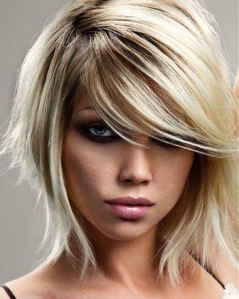Peachy Cute Medium Haircuts For Women Acrylic Nails Designs Short Hairstyles Gunalazisus